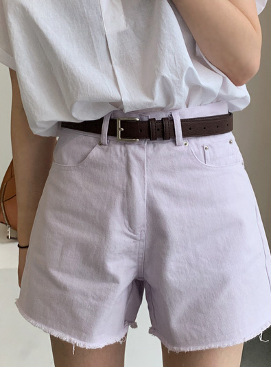 Square buckle belt (* 3color)