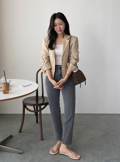 darkgray pants [Same day shipment]