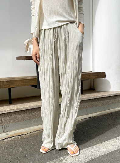 [md recommended] Laom Pleats pants (* 3color)