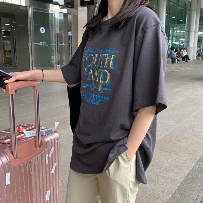 [Quangku] Youth Camp t (*3color)