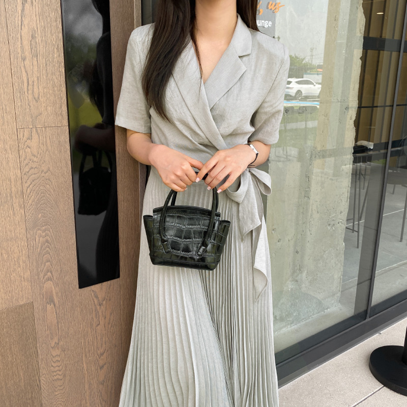[Recommend Guest Look] Classic Pleats ops (*2color)