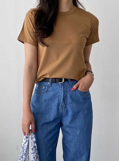 [Daily Recommendation] Standard U-neck t (*5color)