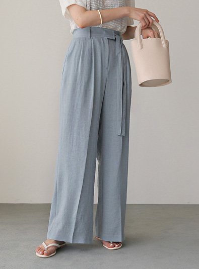 Psia wrap pants (*4color) [same day delivery for beige/conch]