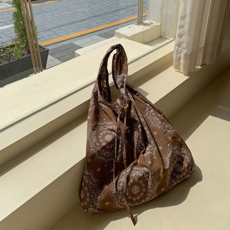 [Daily Bag Recommendation] Paisley Eco bag (*6color)