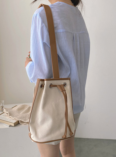 Canvas cooking bag (*2color)