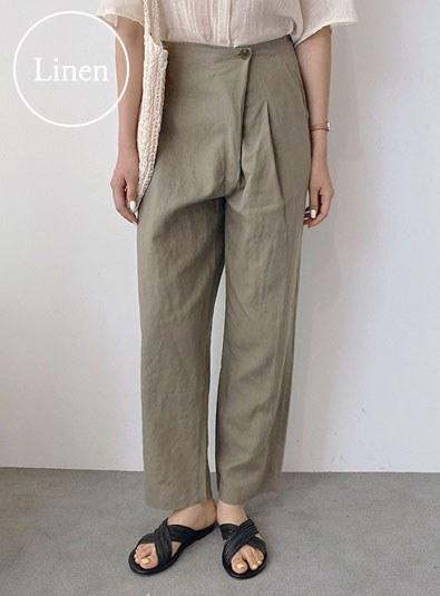 Luming Wrap pants (*2color)