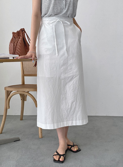 Linen strap sk (*2color)