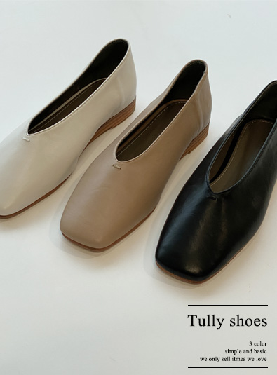 Tully shoes (*3color)
