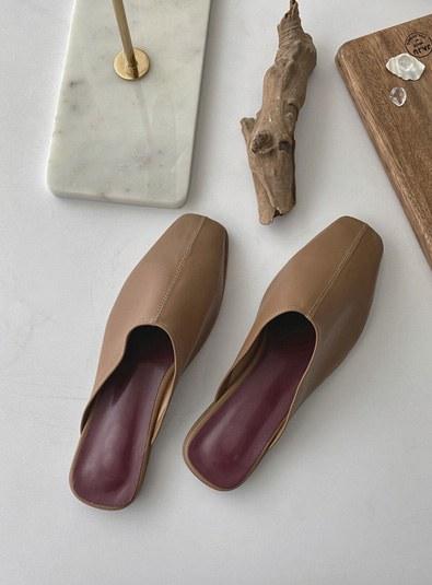 Dove Mule shoes (*3color)