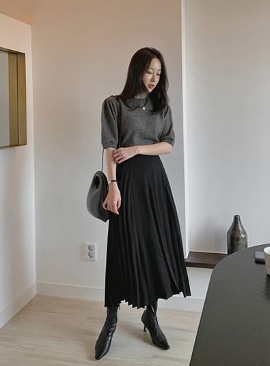 [Guest look recommendation] Dellit Pleats sk (*2color)