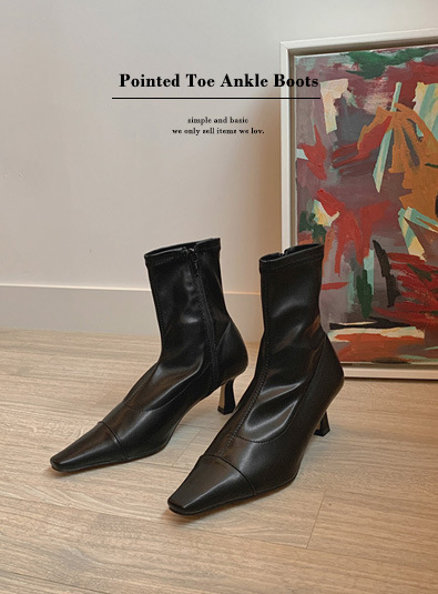 Of ankle shoes (*3color)