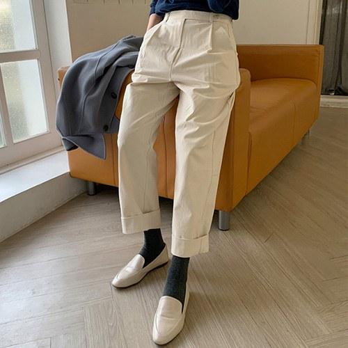 Lemons Pintuck pants (*2color)